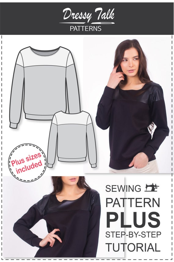 Sweatshirt Sewing Tutorial 119