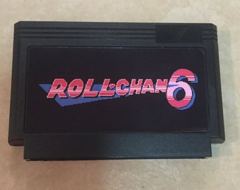 Roll Chan 6 Custom Famicom 8bit Game. Mega Man Hack! Mega Man VI