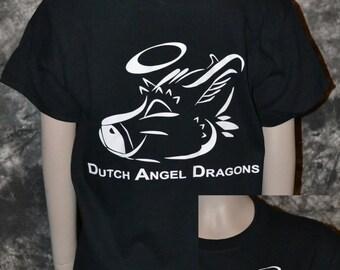 Dutch Angel Dragon 2 sided Tshirt