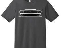 70 Dodge Challenger Shirt, Unisex Car Shirt, Car Enthusiast, Car Design T-shirt, Classic Car Gift for Men, Automobilia