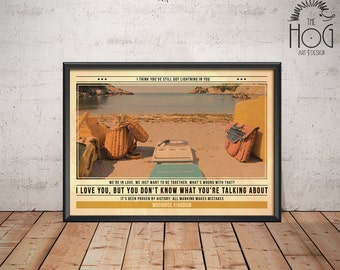 Moonrise Kingdom Poster - Quote Retro Movie Poster - Movie Print, Film Poster, Wall Art, Wes Anderson Print