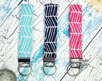 Key Fobs/Wristlets (Herringbone 1 Collection )