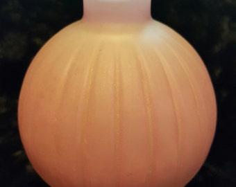Vintage Pinkish Purple Bud Vase
