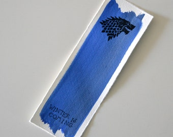 Bookmark - Winter is Coming