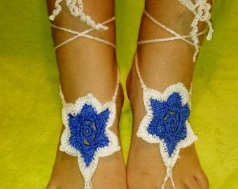 Barefoot Sandals Crochet Ref: S03