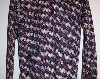Retro Montgomery Ward Disco Shirt