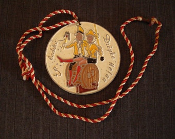"German Carnival Medal, ""Em leck're"", ""Dropke Helau"" [1987]"