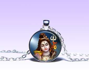 Lord Shiva Pendant Shiva NECKLACE Lord Jewelery Amulet Charm Pendant for Him or Her
