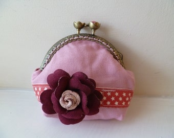 Handmade Fabric Purse