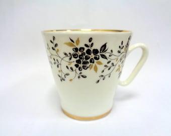 Russian Imperial Lomonosov Cup, Lomonosov Coffee Cup, LFZ, ЛФЗ,  Russian Bone China,  Collectable porcelain, Russian Porcelain, Russia, USSR