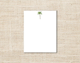 Palm Tree Flat Cards - Set of 10