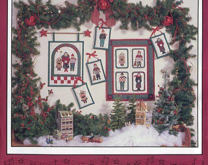 FREE US SHIP Debbie Mumm   Debbie Mumm's the Word Christmas A Joyful Noise Caroler QuiltSewing Pattern Folk Art
