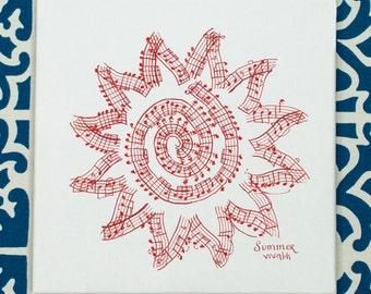 Vivaldi's Four Seasons: Summer Classical Music Art