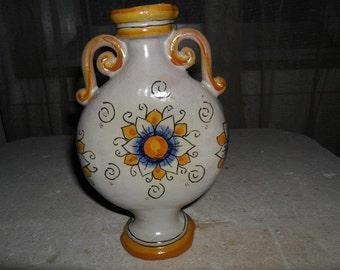 Sicilian ceramic bottle