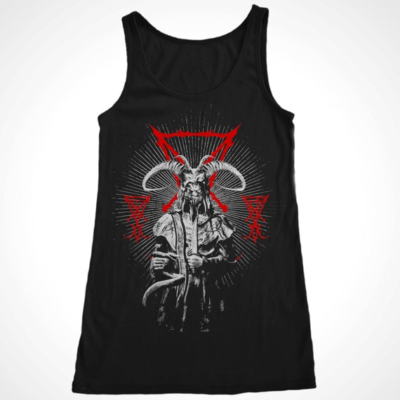 Sigil Of Lucifer And Demon Men's Tank Satanic Satan