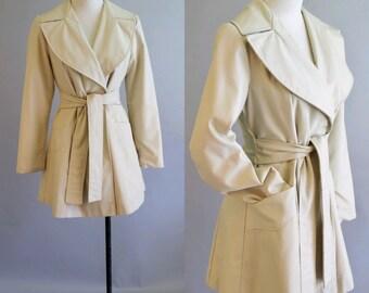 1960's Wrap Trench Coat