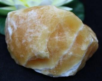 Orange Calcite Large Specimen Piece OCAL73