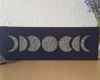 Moon Phases Canvas
