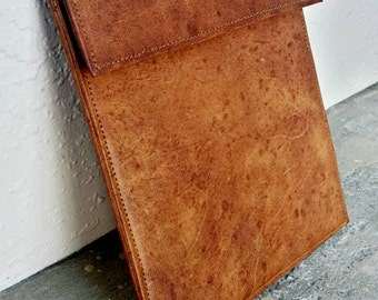 SALE - FREE Custom Embossed Initials !! Custom Tablet Cover Case, iPad Cover, Leather Tablet Sleeve, Leather iPad Sleeve. iPad Case.