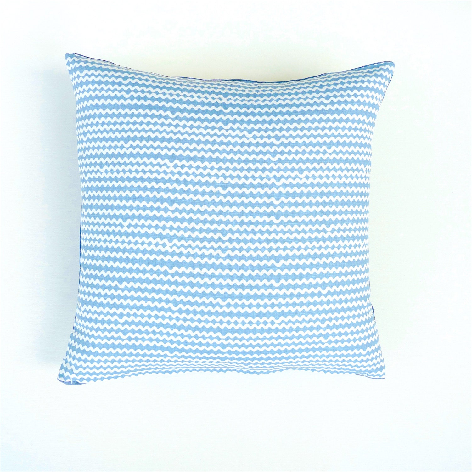 Scandinavian Pillow Covers : Blue and White Pillow Cover. Scandinavian Pillow. Geometric