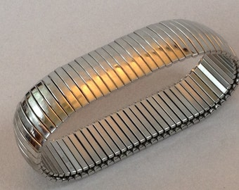 Milor Italy Stainless Steel Expansion Bracelet