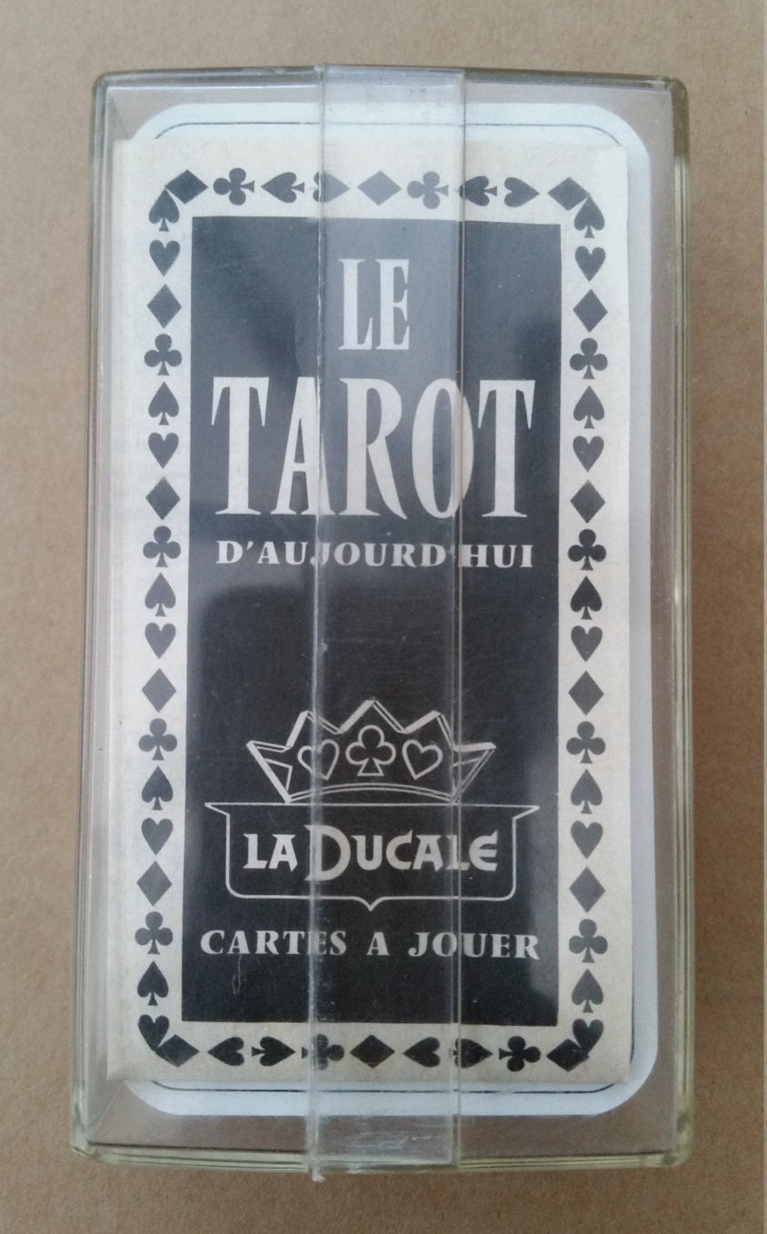 Vintage French Tarot Cards Complete Set Le Tarot D
