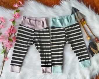 Bamboo Handmade Leggings, Baby Shower Gift, Gender Neutral, Boy Girl Infant High Quality