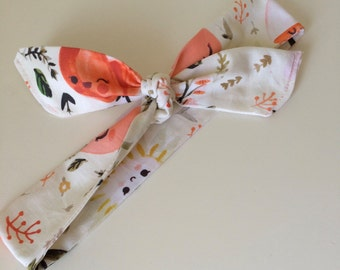 Headwrap in Happy Spring Flowers