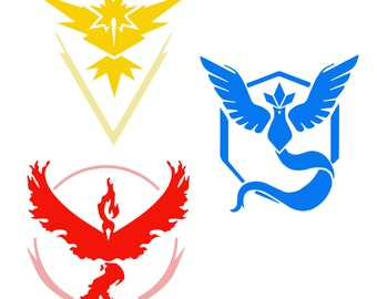 how to make pokemon go team flags
