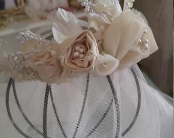 Romantic Bridal Headpiece