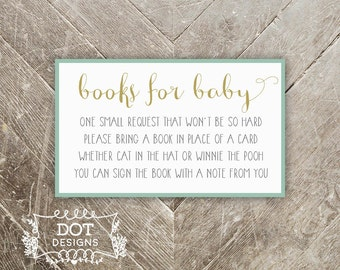 Marvelous Shower Book Request | Etsy