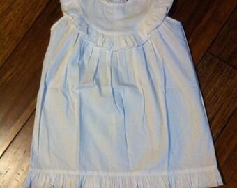 Cotton Ruffle Beach/Easter Dress
