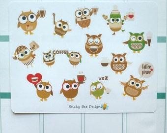 Coffee Owls Set