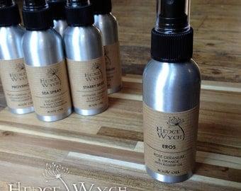 Luxury Body Oil - Rose Geranium & Orange; Moisturising Body Oil, Lightweight Body Oil