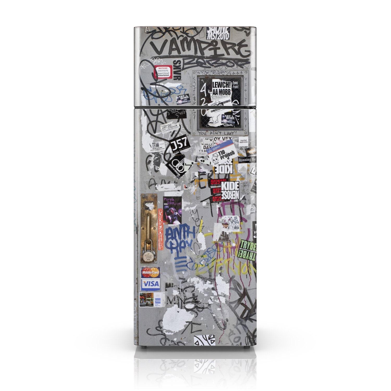 Fridge Decal Vandal's Favorite Graffiti Fridge Wallpaper