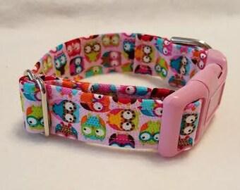Dog Collar, Martingale Collar, Small dog collar, Buckle collar. Adjustable collar