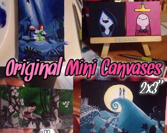 Original Mini Canvases