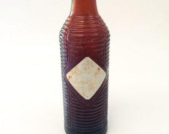Vintage Orange Crush Soda Bottle