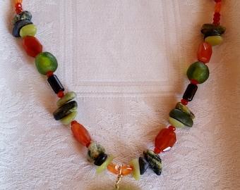 necklace, jade pendant, asian