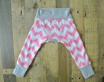 The Lovie Leggings, Chevron Baby Leggings, Pink Baby Leggings, Toddler Leggings, Handmade Leggings, Toddler Pants, Pretty Toddler Pants