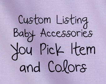 Baby Gift Set, You Pick Items Purple Theme
