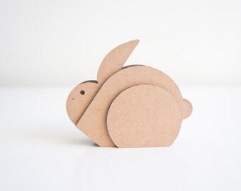 Prairie Collection || Cottontail Rabbit || Cardboard Animal