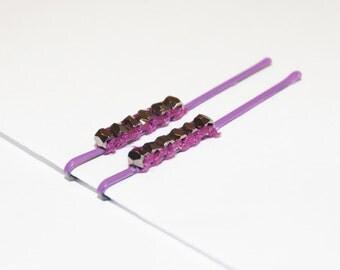 Purple & Silver Nuggets