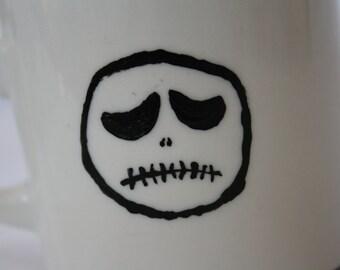 Sad Skeleton Mug