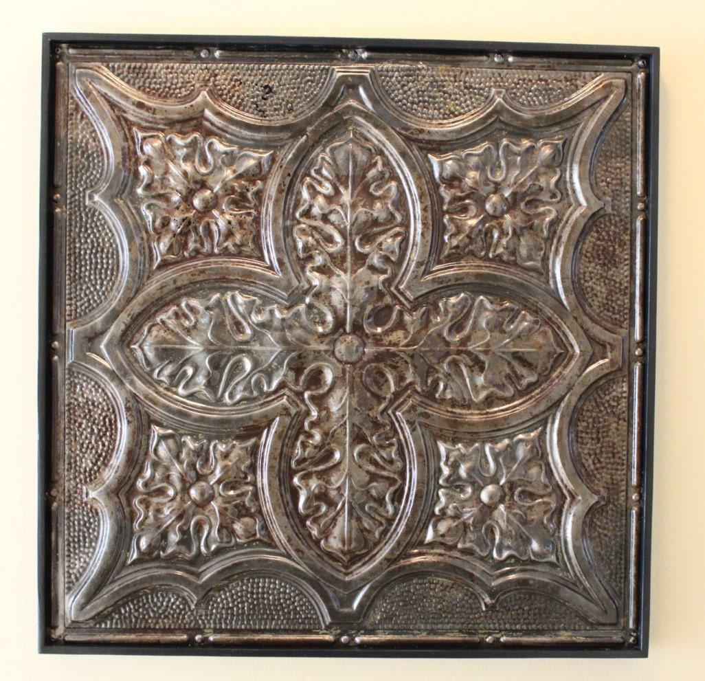 antique tin ceiling tile authentic vintage tin ceiling tile