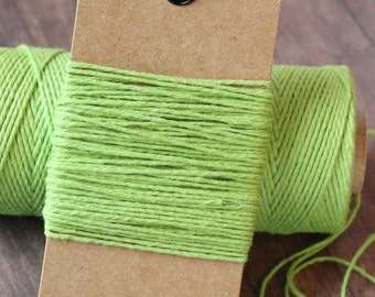 Green Christmas Baker's Twine, 10 yards, Holiday bakers twine, green bakers twine,christmas bakers twine, holiday bakers twine