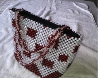 Handmade Beaded Handbag