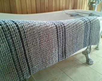 Luxurious Handwoven Bath Towel, Spa accessories, Wedding Gift, Body Wrap