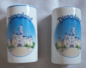Vintage 50s Disneyland Salt and Pepper shakers