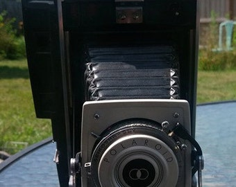 1960's Polaroid Land Camera with accessories